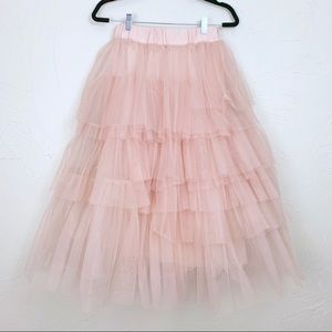 NWT ChicWish Tulle Skirt XS/S